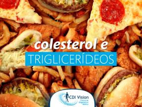 Na CDI Tem: Exames de Colesterol e Triglicerídeos